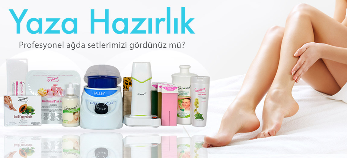 Well-groomed skin care hair care waxing