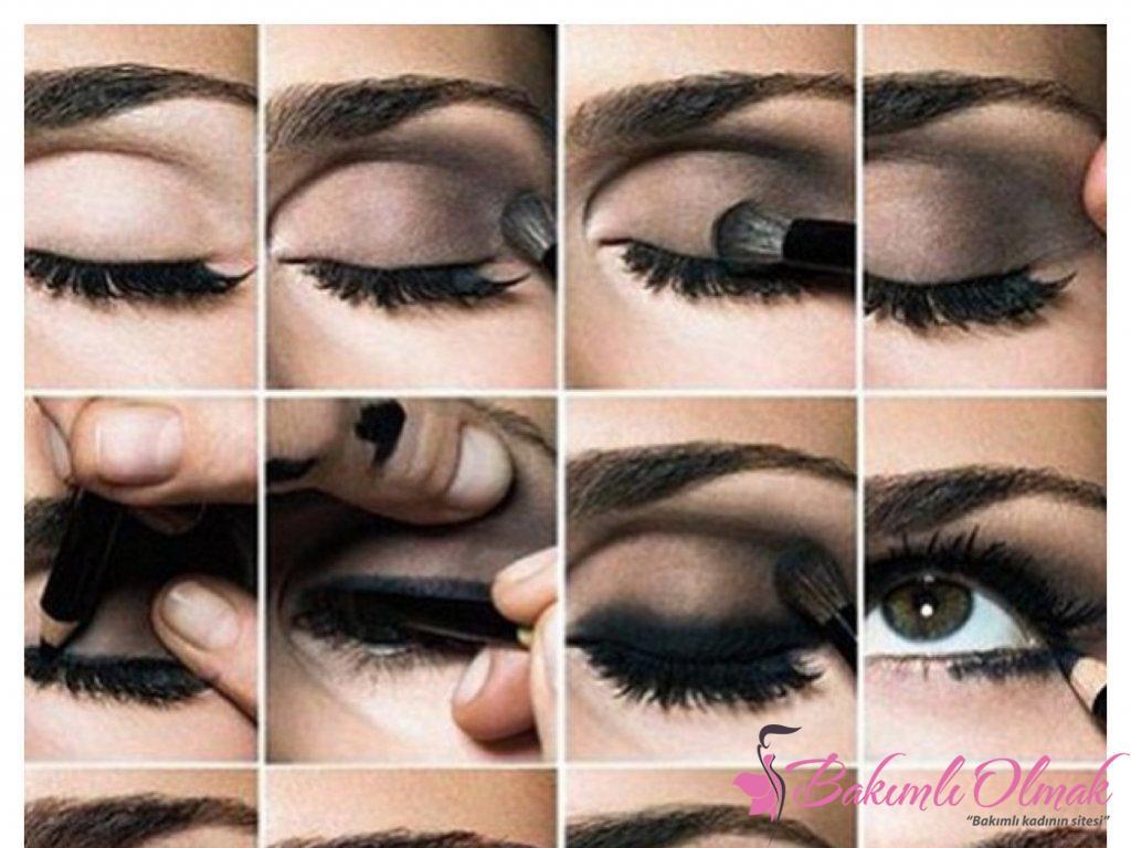 Göz makyajı için tüyolar
